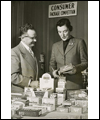 Dorothy Walton with food products