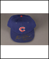 Ferguson Jenkins baseball cap with the Chicago Cubs