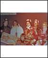 Gilles Villeneuve and his family