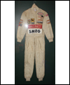 Formula One suit worn by Gilles Villeneuve