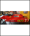 Part of the Ferrari 126 C2, driven by Gilles Villeneuve