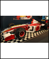 Jacques Villeneuve's Formula One BAR Honda car used in 2000