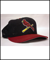 Cap worn by Larry Walker while a member of the St. Louis Cardinals