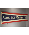 Banner of the Toronto Aura Lee Hockey Club of the Ontario Hockey Association that Lionel Conacher played for