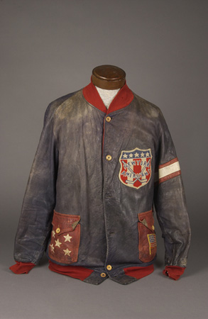 Lionel Conacher's hockey team jacket.