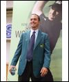 Mike Weir wears the Green jacket after winning the Masters
