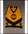 a photograph of Noel MacDonald's basketball jersey