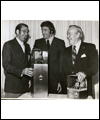 Alan Eagleson, Phil Esposito (middle) and Lester B. Pearson
