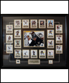 photographic print collage of Sidney Crosby